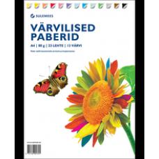 Värviline paber A4 /23  lehte 13 värvi