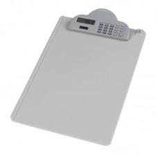 Kirjutualus  Deli  A4  plastik,kalkulaatoriga