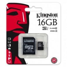 Mälukaart 16GB SDHC Kingston micro SD class10 KAMPAANIA