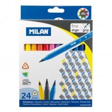 Viltpliiatsid Milan  24v kolmnurkne