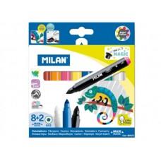 Viltpliiatsid Milan magic 8+2 värvi