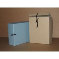 Arhiivikarp 280x120 sinine paelaga seotav,otsast avanev/C