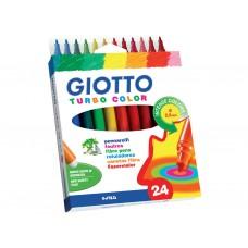 Viltpliiatsid Fila Giotto turbo  24värvi