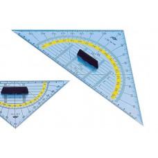 Kolmnurk-mall käepidemega  Wedo 25 cm