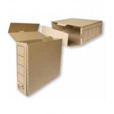 Arhiivikarp pruun Smiltainis 8cm,330x245x82nn,lai külg