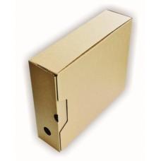 Arhiivikarp SMLT  8cm pruun,otsast avanev 247x82x305