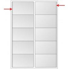 Iseliimuv visiitkaarditasku Prolexplast 60x100 10tk