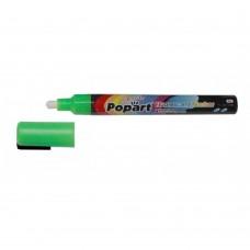 Klaastahvli marker Levi  Popart 2-3mm,8g,roheline