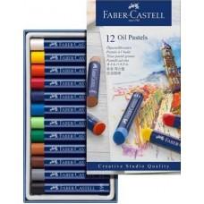 Õlipastellid Faber-Gastell  Creative studio 12v