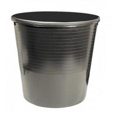 Paberikorv E.K 12 L,must,täisplast