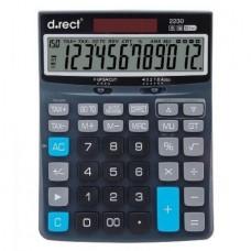 Kalkulaator D.rect 2230 TAX+,12konta