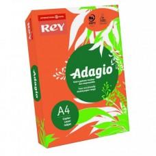 Adagio Rey A4 500g, 500lehte  nr..21,oranz