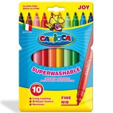 viltpliiatsid Carioca Joy 10värvi