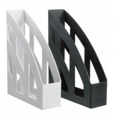Dokumendihoidja E.K Basic A4  75mm ,must, vertikaalne