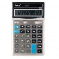Kalkulaator D.rect 2215 , 12kohta , hõbe